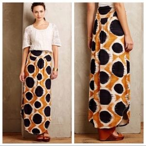 Anthropologie Maeve Melo Maxi Skirt XS
